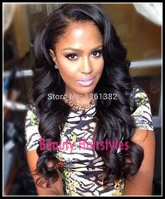 FreeShipping Body Wave U Part Wig Peruvian Virgin U Part Human Hair Wigs Natural Color Right Part Wavy Upart Wig for black women