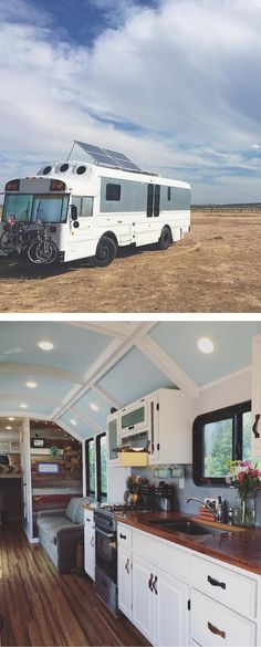 This growing trend of people converting school buses has even given the new tiny homes on wheels its own name: a skooly.