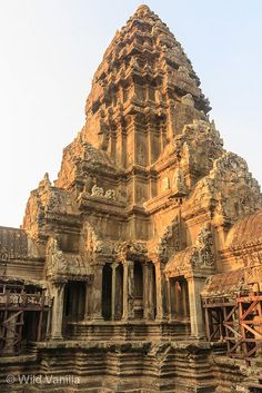 Tower of Central Temple - Angkor Wat Cambodia
