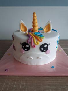 Eenhoorn taart / unicorn cake