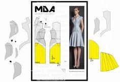 ModelistA: A4 NUM 61 DRESS seg part.