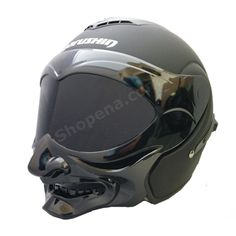 A crazy looking helmet with a comfortable feel and awesome fit. Get a hold of the Marushin Matte Black Samurai Motorcycle Helmet! Scrambler Motorcycle, Motorcycle Helmets, Flip Up Helmet, Samurai Helmet, Cafe Racer Build, Car Insurance, Matte Black, Cool Photos, Café Racers