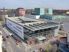 Die Mediothek Krefeld. Moderne öffentliche Bibliothek! / Mediothek Krefeld - a modern public library!