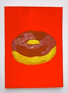 Heavenly Donut 130 ARTIST TRADING CARDS 2.5 x 3.5 by MikeKrausArt