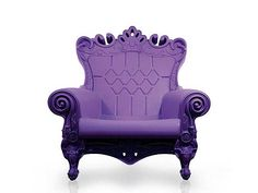 The 'Queen of Love Throne Chair' is a colourful piece of outdoor furniture by Italian design house, Moro-Pigatti.