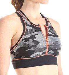 Trina Turk Recreation Womens Congo Camo Sports Bra Black XLarge * You can find out more details at the link of the image.Note:It is affiliate link to Amazon.