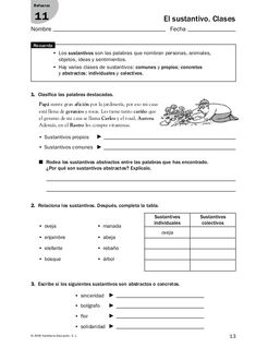 Refuerzo y ampliación lenguaje 5º Elementary Spanish, Spanish Class, Spanish Lessons, Teaching Spanish, Spanish Worksheets, School Hacks, Spanish Language, Homework, Chemistry