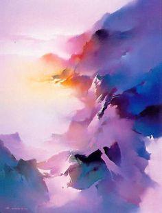 'Rainbow Mountain' by Hong Leung
