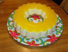 Crafty Pineapple: Pineapple Cheesecake in Tupperware Jel Ring