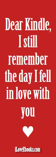 image iLoveEbooks Quote: I Love you, Kindle