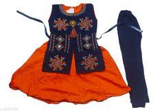 Kurta Sets Kids Girls Designer Frock& legging Kids Girls Designer Frock& legging Country of Origin: India Sizes Available: 2-3 Years, 3-4 Years, 4-5 Years, 6-12 Months, 9-12 Months, 12-18 Months, 18-24 Months, 0-1 Years, 1-2 Years   Catalog Rating: ★4 (693)  Catalog Name: Kid Attractive Clothing Sets CatalogID_1401528 C61-SC1140 Code: 872-8357044-997