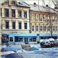 oslo. city. snow. streetphotography.