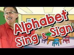 This sign language song shows the sign for each letter of the alphabet and then it also shows the sign for words with the beginning sound for each letter of . Sign Language Songs, Sign Language For Kids, Learn Sign Language, British Sign Language, English Language, Language Arts, Silly Songs, Abc Songs, Kids Songs