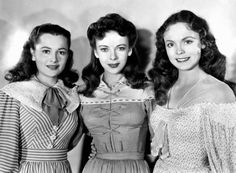 Wonderful.....The actresses who played the Bronte sisters in the 1946 film…