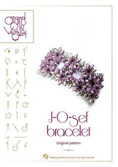 Armband Anleitung / Muster J-O-Sef-Armband mit von beadsbyvezsuzsi