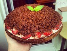 Tento recept na krtkovú tortu je môj najobľúbenejší a dokonca som si kvôli tomu spravila  účet na vareche. Nemôžem žiť s takou ťažobou a zobrať si nedajbože tento recept do  hrobu :) Recept je vegánsky, čo zdôrazňujem, pretože chuťove by to nikdo nespoznal. Tak pustime sa do toho! : )