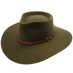 Akubra Territory Hat Khaki 58 -- Details can be found by clicking on the image. Cowgirl Outfits, Outfits With Hats, Cowboy Gear, Cowboy Hats, Fly Fishing Hats, Aussie Hat, Gentleman Hat, Snakeskin Cowboy Boots, Dress Hats