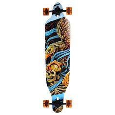 "Amazon.com: AW Pro Longboard Complete 41x9.75"" Longer Cruiser Board Speed Skateboard Downhill Maple Outdoor: Sports & Outdoors"