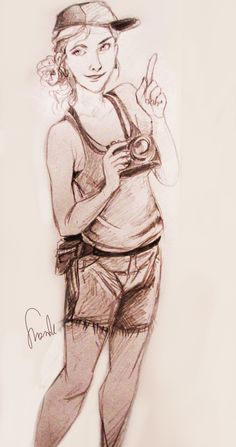 """""""Okay, wait, Percy, just one picture please"""" Click on it, otherwise it looks a little blurry :v"""