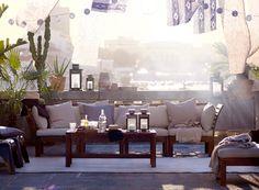 ÄPPLARO loungemeubels voor op het balkon