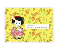 Das Glück ist… Konfuzius Glück Wunsch Weisheit - http://www.1agrusskarten.de/shop/das-gluck-ist-konfuzius-gluck-wunsch-weisheit/    00000_1_83, Grußkarte, Illustration, Klappkarte, Spruch, Sprüche, Support, Weisheit, Weisheiten00000_1_83, Grußkarte, Illustration, Klappkarte, Spruch, Sprüche, Support, Weisheit, Weisheiten