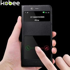 KOBEE For Xiaomi Mi5 Case Luxury Leather Flip Window Cover For Xiaomi Mi 5 Mi5 Pro Mi5 Prime 5.15 Mobile Phone Accessories #clothing,#shoes,#jewelry,#women,#men,#hats,#watches,#belts,#fashion,#style