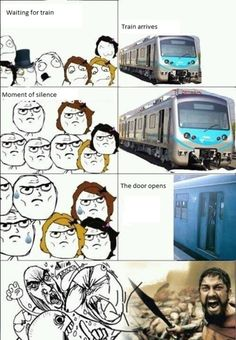 funny memes tumblr | Funny Meme - Waiting for a trainSubmitted by Fabian