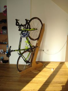 bike stand - clever and cool solution