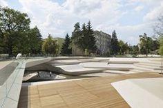 Plaza Promenada de Enota en Valenje, Eslovenia