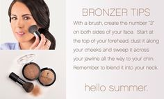 How to apply Younique Beachfront Bronzer Get yours at ---> www.youniqueproducts.com/janabost