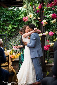Christopher Duggan Photography shares Martina & Jonathan's Aurora Brooklyn Wedding Photos from their wedding in Williamsburg.