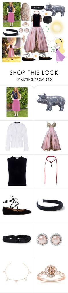 """Princess Eilonwy"" by fandom-girl365790 ❤ liked on Polyvore featuring Disney, Jacquemus, Vera Wang, Mother of Pearl, Valentino, Gianvito Rossi, Miss Selfridge, Aéropostale, Miu Miu and Marie Mas"
