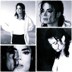 I loved MJ's curls...collage