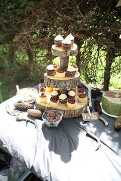 Colton's 2nd Birthday | Deer Bear Hunting Outdoor Themed Party