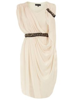 I've ALWAYS wanted a Greek-inspired dress.  This one is perfect; it has a bit of a modern twist to it.