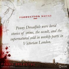 What are penny dreadfuls?