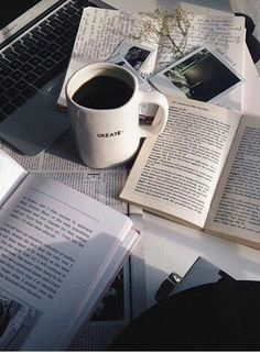 Coffee Home Office Monday Morning Motivation Businesswoman Home Office Working How To Stay Productive When Working From Home Book And Coffee, Coffee Reading, Study Hard, Book Aesthetic, Aesthetic Coffee, Study Notes, Student Life, Study Motivation, College Motivation