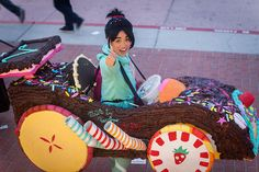 Vanellope from Wreck it Ralph. Sweet
