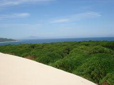 vista desde la duna de Bolonia