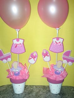 Centro De Mesa Baby Shower 5578 MLA4460841306_062013 F.