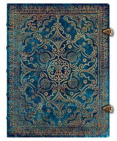 Equinoxe Azurblau - Notizbuch Groß Liniert - Paperblanks: Amazon.de: Bürobedarf & Schreibwaren
