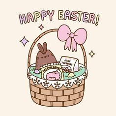 "44.5k Likes, 245 Comments - Pusheen (@pusheen) on Instagram: ""Happy Easter! """