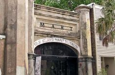 Charleston was the main point of entry into America for enslaved people in the 18th and 19th centuri... - Old Slave Mart Museum