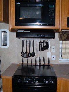 utensil storage I'm doing this! but what happens when you tow the trailer, do you still have to put this stuff away?