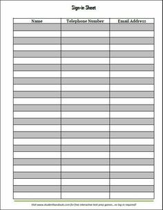 family roster template