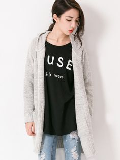 Favorite Hooded Knit Cardigan $35.80 Purchase over $55 and get Extra 10% OFF on this product.Use Code: EXTRA10