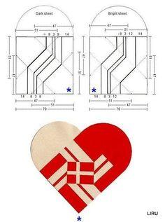corazones ensamblados - liru_origami - Picasa Web Albums