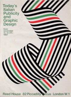 Franco Grignani — Today's Italian Publicity and Graphic Design (1967). This site has some other cool poster designs as well.