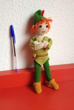 Peter Pan amigurumi