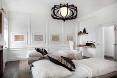 Serene, white space,